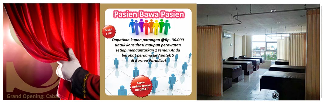 Promo GRAND OPENING Klinik dr. Arthur Cabang Borneo ...